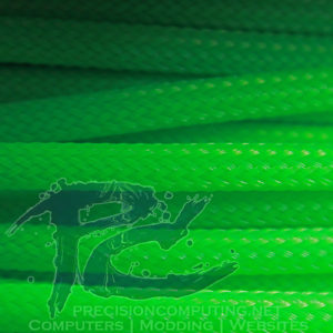 Vibrant Green Ultra Weave PET Sleeve